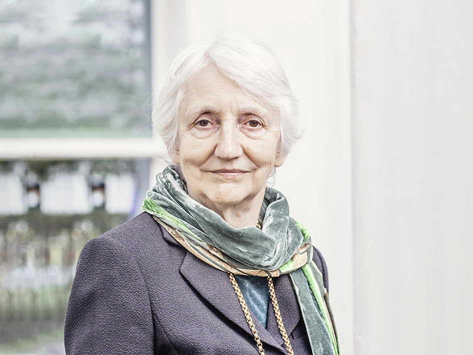 Portrait of Onora O'Neill. Photo: Martin Dijkstra