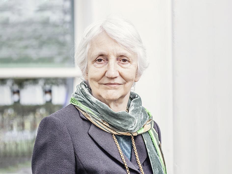 Portrait of Onora O'Neill. Photo: Martin Dijkstra