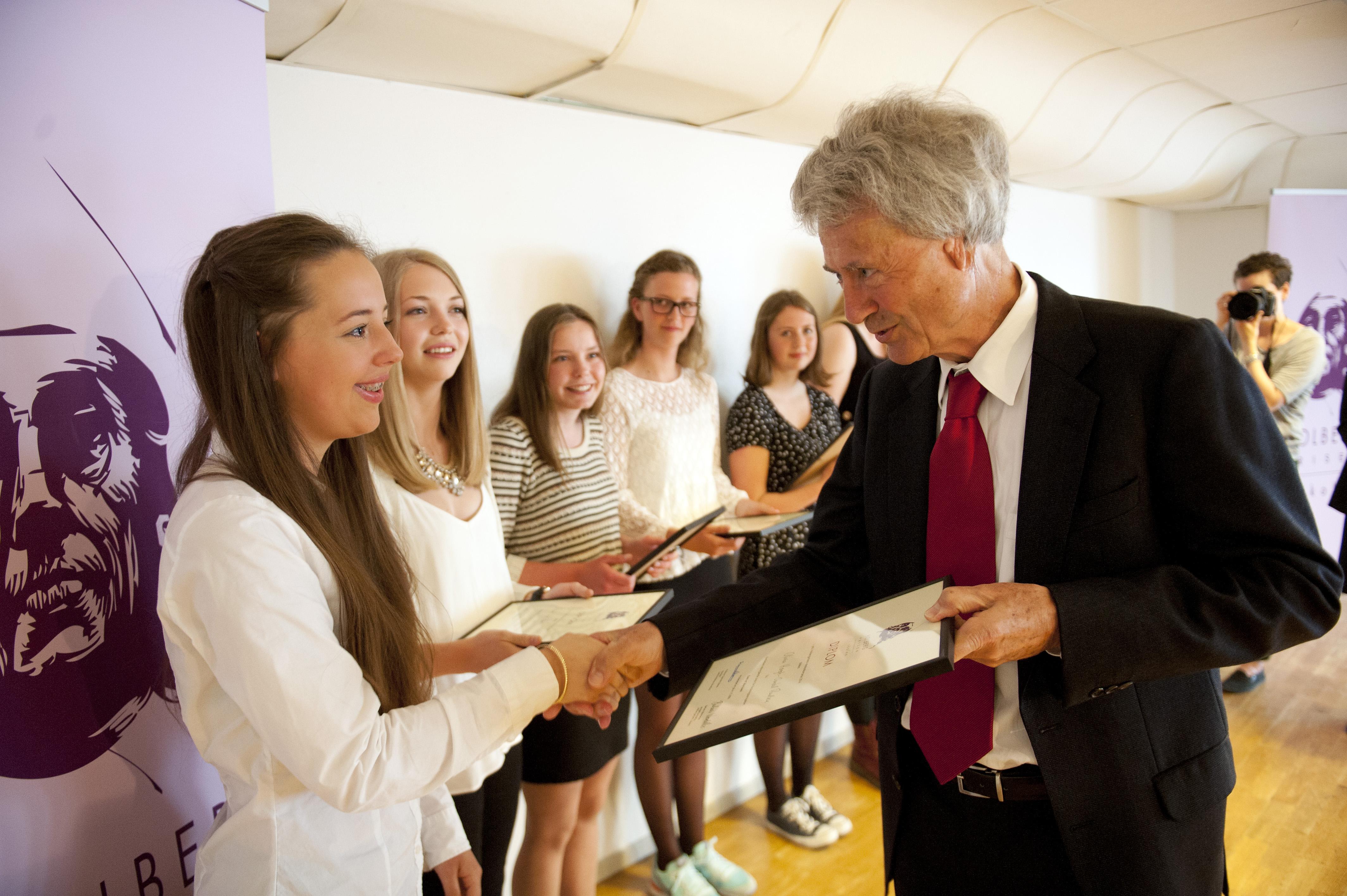 2014_Michael Cook_Holbergprisen i skolen_utdeling
