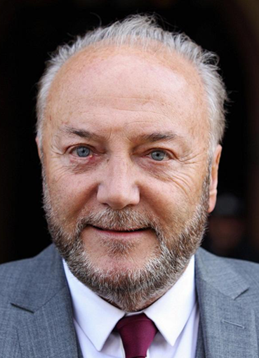 George Galloway portrait